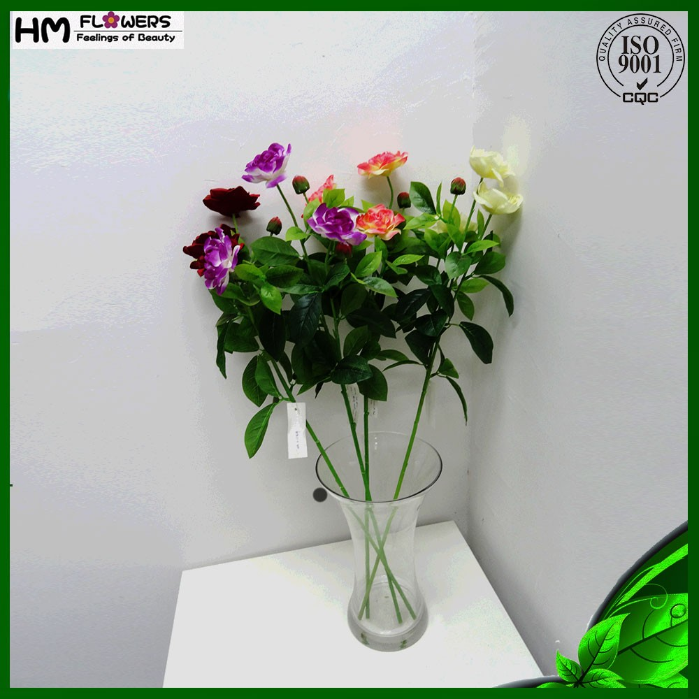 Cheap artificial flower craft fabric flowers buy craft for Fake flowers for crafts