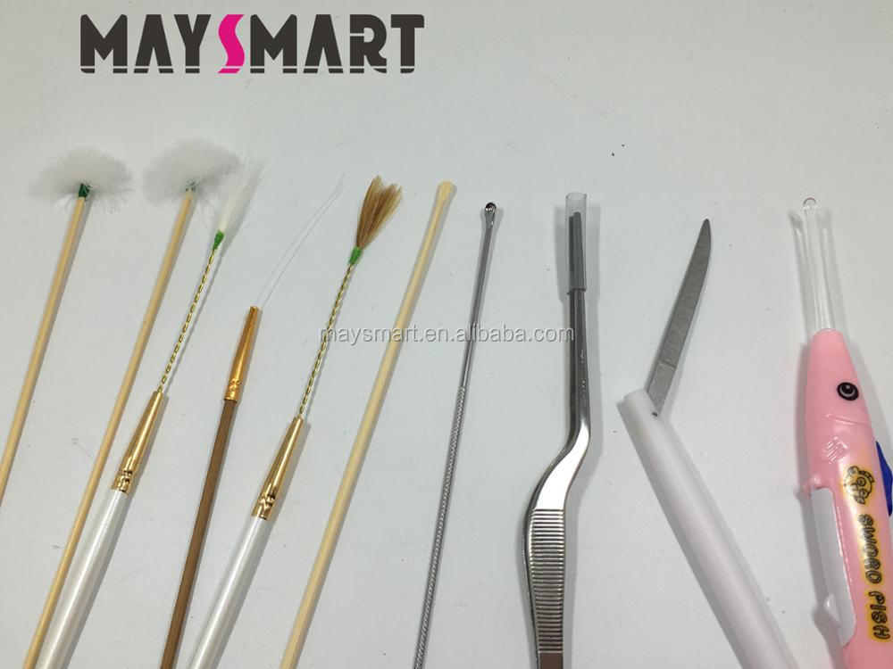 New Children/Women/Man Light Emitting Ear Earwax Spoon 10pcs Clean Ear Set