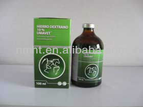 veterinary medicine 50ml ,5% iron injections