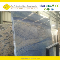 Azul Macauba blue granite cheap price of slabs and tiles design