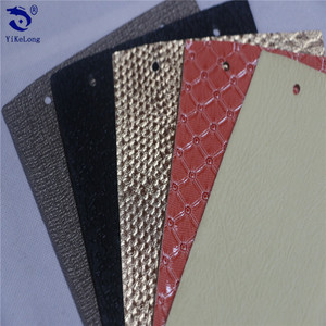 Yiwu pvc synthetic artificial leather for handbags,Interior decoration