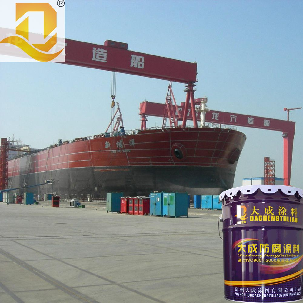 Anti-corrosion and antifouling marine ship/boat coating