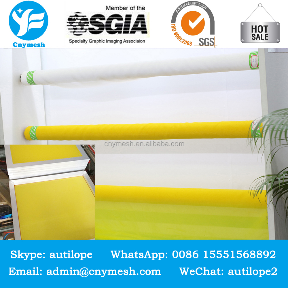 Cheap hot sale top quality printing mesh and yellow bolting cloth mesh fabric