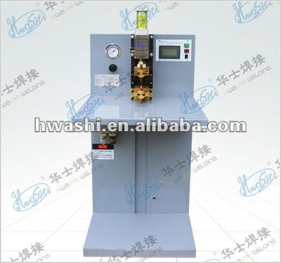 AC pulsed carbon rod silver spot welder
