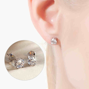 Hot sale factory direct price 925 sterling silver elephant earrings