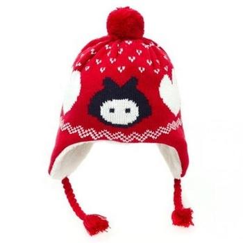 3cbec99ff Hot Sale Cute Baby Kids Winter Hat Xmas Warm Knit Hat Cartoon Beanie Cap -  Buy Caps And Hats Warm Christmas Winter,Christmas Hat Xmas Cap,Kids Winter  ...