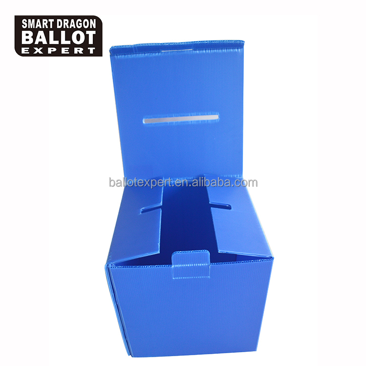pp plastic security box ballot box for election 2016
