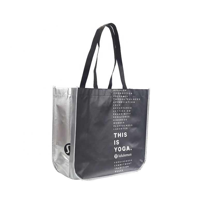 Durable <strong>eco</strong> friendly large waterproof laminated non woven tote bag