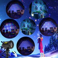 Christmas decoration light/ mini waterproof garden laser light