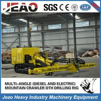 China Factory direct sales diesel & motor crawler mountain rotary DTH Drilling Machine JBP230
