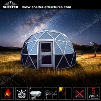 glass geodesic dome tent for sale