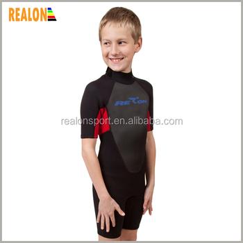 6b7b397e26 neoprene short baby boys surf suit