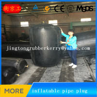 China Jingtong inflatable rubber pipe plugs for closed water test