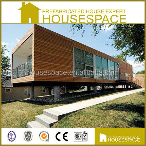 Economisch goede ge soleerde geprefabriceerde houten container huis prefab huizen product id - Huis in containers ...