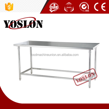 Stainless Steel Metal Table Out Door Table Restaurant Kitchen - Stainless steel dishwasher table