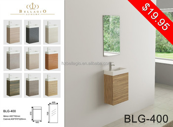 Euro Style Bathroom Cabinet Mfc Vanity With Resin Basin