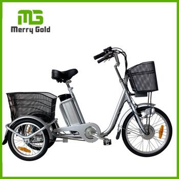 Cina Prezzo Di Fabbrica Elettrico 3 Bicicletta A Tre Ruote Triciclo Elettrico Con Cesti Per Gli Anziani Buy Elettrico 3 Bicicletta A Tre