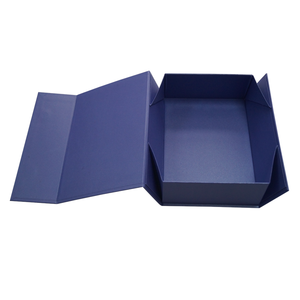 New products luxury private label printing paper packaging collapsable folding flat custom gift boxes