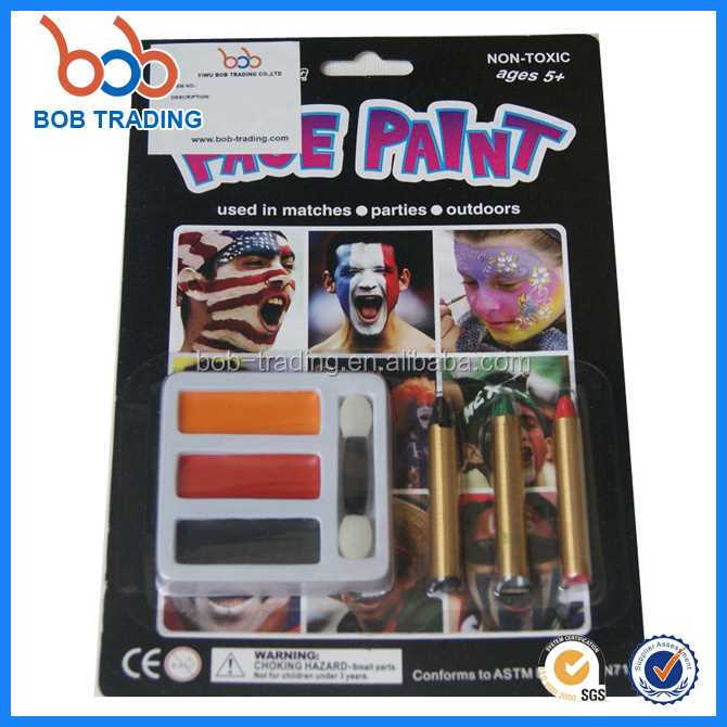 best quality Halloween face paint argentina flag easy face painting
