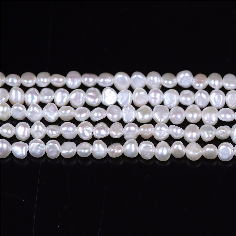 "Cultured freshwater pearl Baroque Freshwater Pearl Loose Beads 16"" each strand"