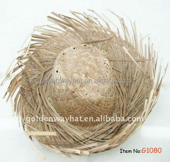 Wholesale Mexican Peasant Straw Lifeguard Hats