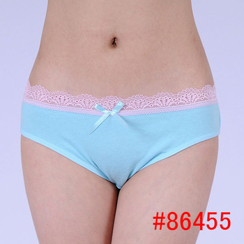 Hot Lingerie Cheap Cotton Women Panties Underwear Fashion Ladies ...
