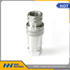 stainless steel close type pneumatic and hydraulic quick coupling