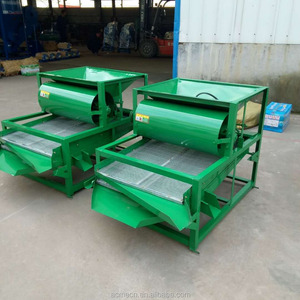 Grain Vibrating Classifying Screen with rice screening machine