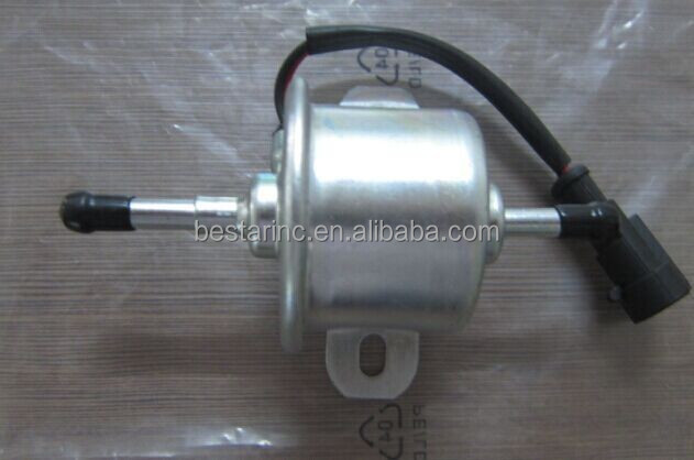 12V low pressure yan'mar excavator electric fuel pump 129612-52100 / HEP-015