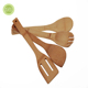 Wholesale Organic Bamboo Utensil Set, Wooden Cooking Spoons and Spatulas, Antimicrobial Kitchen Tools