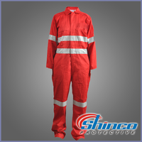 EN 11612 fire resistant coverall