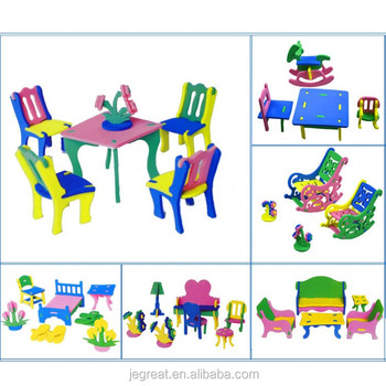 Toys For Kids Handicrafts Children Diy 3d Eva Jigsaw Puzzle