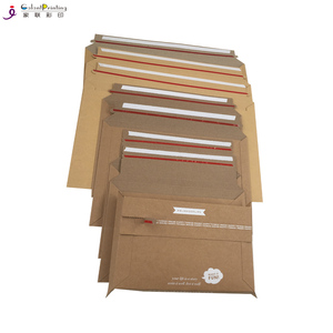 Galant kraft cardboard mailing bag express shipping envelope with custom logo