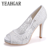 Wedding Party Female Pumps Sexy Open Toe High Heels Evening Dress Shoes