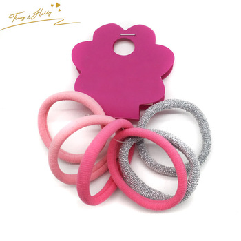 Professional Made Rope Nylon Hairings Elastic Hair Ties Thick Hairbands  Girl s Hair Bands afd82a09b15