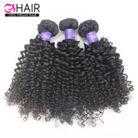 100% Unprocessed 10a 8 Inch To 30 Inch Raw Indian Remy Human Hair Bundle Kinky Curl Weave Hair