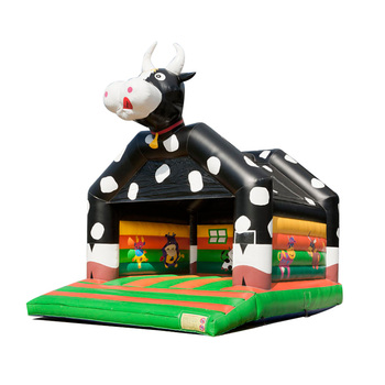 Cow 6,6 x 5,0 x 5,7 m kids inflatable bounce house jumper bouncer jump bouncy castle for children with good quality