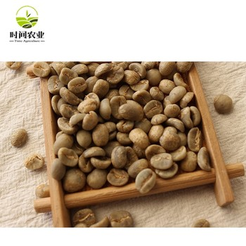 Green Coffee Beans Arabica with package for beans buyer