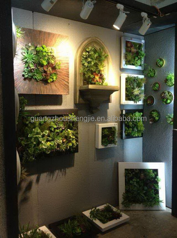 Sjh010535 artificial green wall artificial moss carpet for Artificial plants for interior decoration