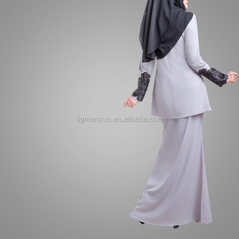 Latest Designs Abaya Hot Sell Baju Kurung Fashion New