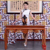 New design popular furniture chinese style antique wood carved altar table on sale