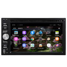 Universale da 6.2 pollici touch screen 2din navigazione gps Android 5.1 Cd car <span class=keywords><strong>audio</strong></span> car PC con Wifi,/3G/Bluetooth/AM, FM Radio/TV/