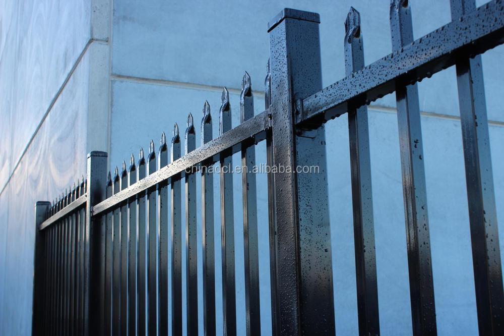 Zinc Tubular Steel Fence Steel Tube Fence Panels Fence