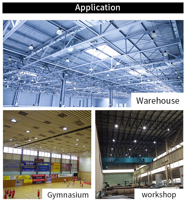 IP65 High brightness waterproof industrial led 60w ufo high bay light