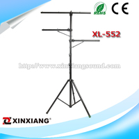 Lighting stand professional adjustable metal with T bar XL-552