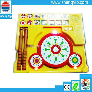 Double - drum music toys for children books