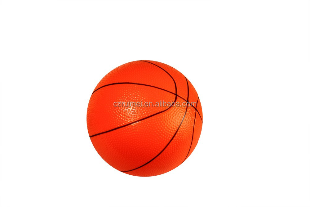 hot product eco-friendly PVC colourful toy basketball/toy football for fun