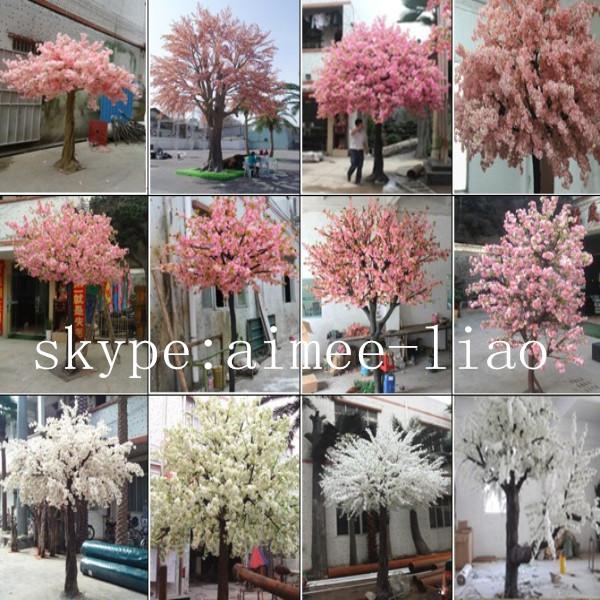 Q12807 Small White Cherry Blossom Tree Factory Making