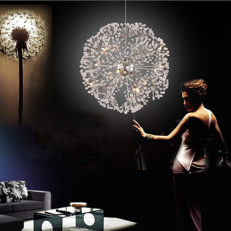 Romantic Bedroom Lighting: Nordic Personalized Luxury Romantic Bedroom Living Room