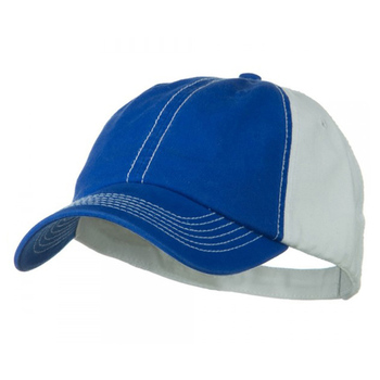 Design Your Own Plain Solid Two Tone Hat Blank Two Color Baseball ... 22af5822e19